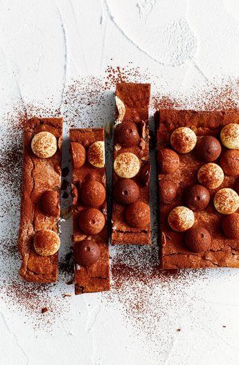 Lindor brownies