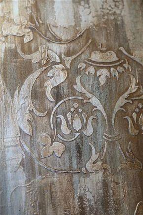 Firenze Classic Panel Stencil