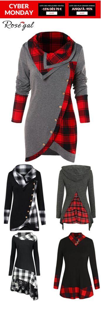 95% remise pour les vestes femme #Rosegal #mode #hiver