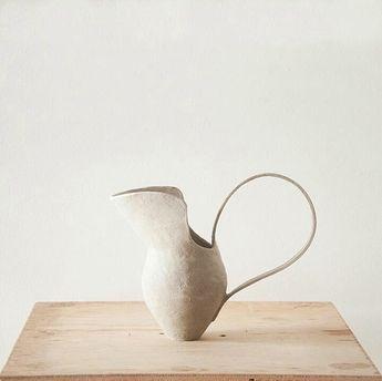 "31 Chapel Lane on Instagram: ""Greenware jug 🏹, by @miriamc.k"""
