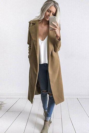 Long Open Coat