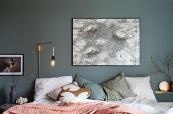 Sovrummets nya väggar