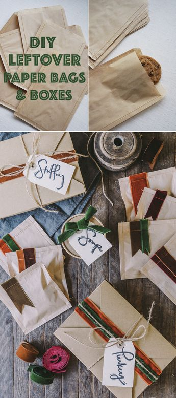 DIY Paper Take-Away Packages