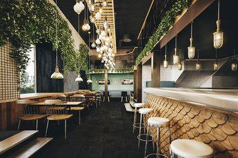 HOLY SMOKE RESTAURANT by Bureau Bumblebee on Behance                                                                                                                                                                                 More