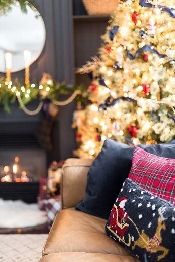 christmas mantel decor craftberrybush-13