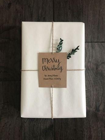 DIY Weihnachtsverpackung  #christmasgifts2019 #weihnachtsverpackung