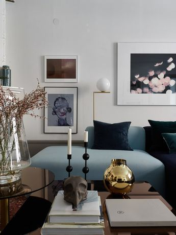 Sophisticated turn of the century apartment