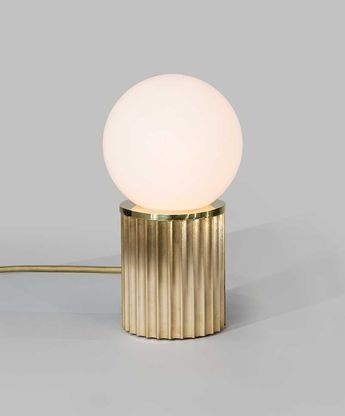 Check out the Rex Table light fixture from The Urban Electric Co.