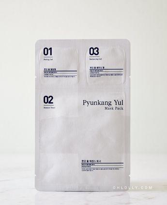 Pyunkang Yul 3-Step Mask Pack