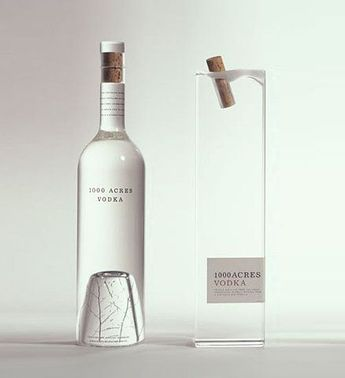 simple vodka bottle design. on
