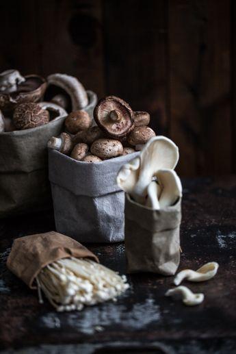 Mushroom broth
