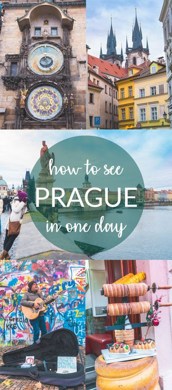Things to do in Prague in One Day