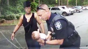 Georgia Police Officer Saves Choking Baby in Dashcam Footage