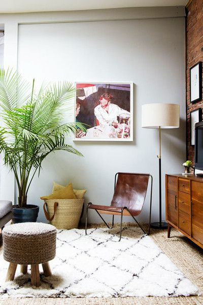 Cozy Corner - A Gallerist's Industrial, Artful Brooklyn Home - Photos