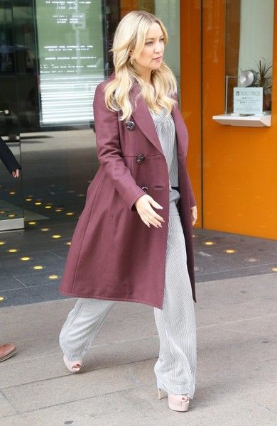 Actress Kate Hudson is spotted stepping out in New York City, New York on April 28, 2016. Kate celebrated her 37th birthday on Saturday April 19th with a wedding themed birthday party.