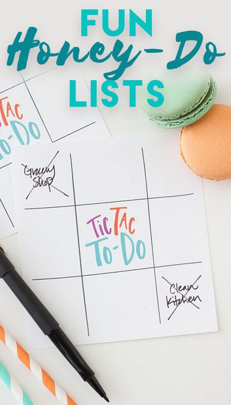 Fun Honey-Do Lists