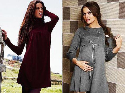 Купить Вязаное Платье Для Беременных