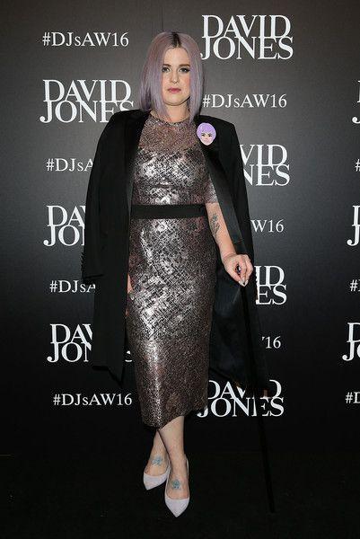 Kelly Osbourne arrives ahead of the David Jones Autumn/Winter 2016 Fashion Launch at David Jones Elizabeth Street Store on February 3, 2016 in Sydney, Australia.