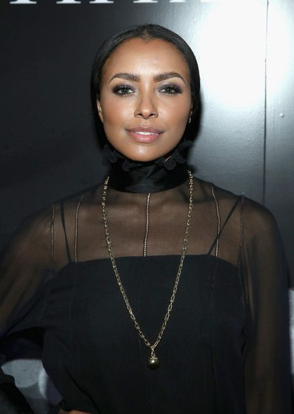 Actor Kat Graham attends the Tiffany HardWear Los Angeles Preview with The Art of Elysium.
