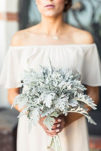 Minimal Mint - Statement Bouquets for Your Walk Down the Aisle - Photos