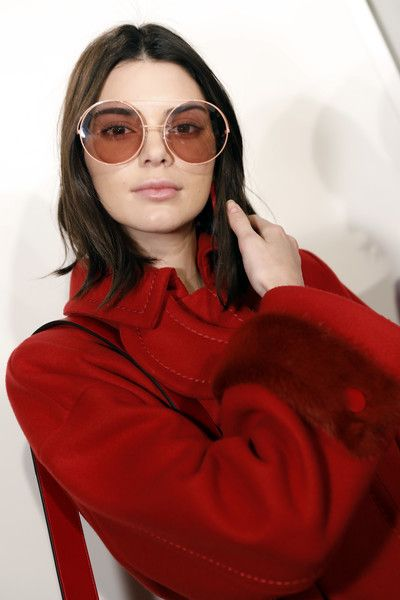 Kendall Jenner is seen backstage ahead of the Fendi show during Milan Fashion Week  Fall/Winter 2017/18 on February 23, 2017 in Milan, Italy.