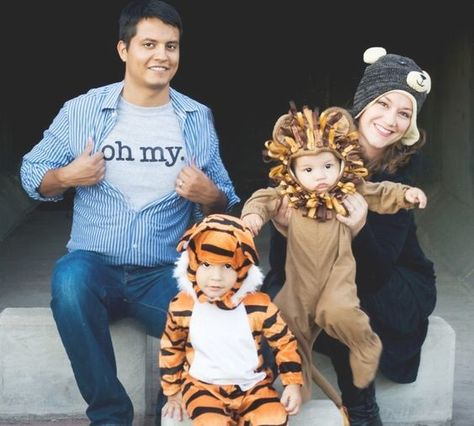 Lions, and tigers, and... - Fantastic Family Halloween Costumes - Photos