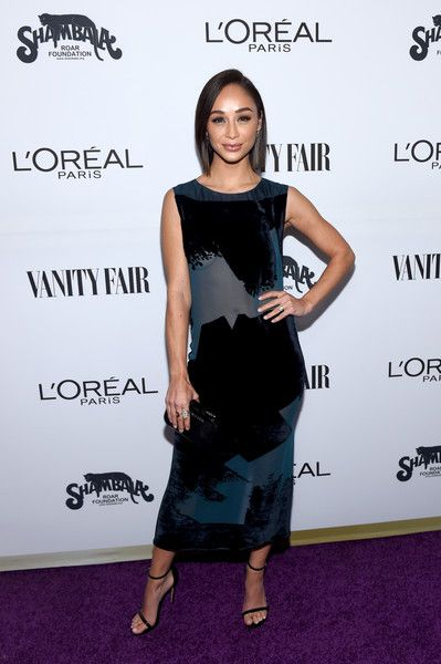 Actor Cara Santana attends the Vanity Fair and L'Oreal Paris Toast to Young Hollywood.