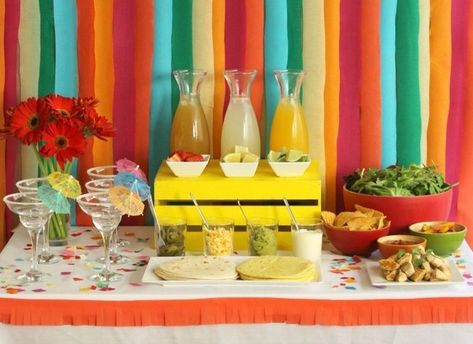 'Make Your Own' Bar - Have A Fiesta With These Cinco De Mayo Party Ideas - Photos