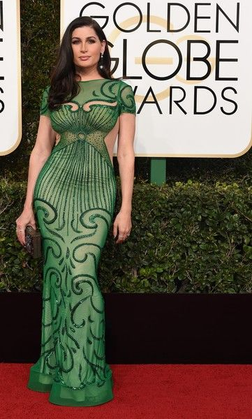 Trace Lysette - All the Stunning Looks from the 2017 Golden Globes - Photos