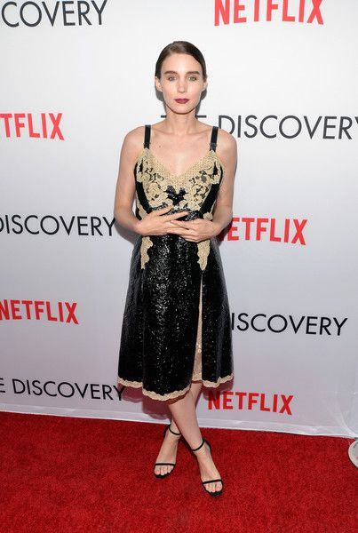 Actress Rooney Mara attends the premiere of Netflix's 'The Discovery.'