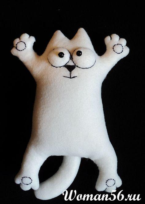 Кот саймон сшить своими руками