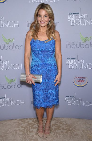 Candace Cameron-Bure attends the Garden Brunch prior to the 102nd White House Correspondents' Association Dinner at the Beall-Washington House.