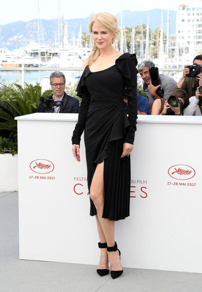 "Actress Nicole Kidman attends the ""Top Of The Lake: China Girl"" photocall during the 70th annual Cannes Film Festival at Palais des Festivals on May 23, 2017 in Cannes, France."