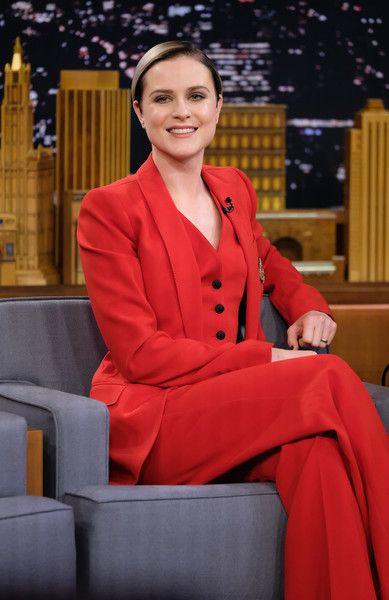 Evan Rachel Wood Visits 'The Tonight Show Starring Jimmy Fallon.'