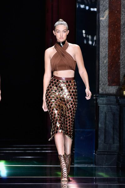 Balmain Spring 2016 - Gigi Hadid's Most Stunning Runway Looks - Photos
