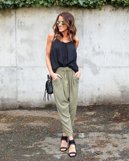 Jazz Up Joggers - Cute Outfits To Wear When You Fly - Photos