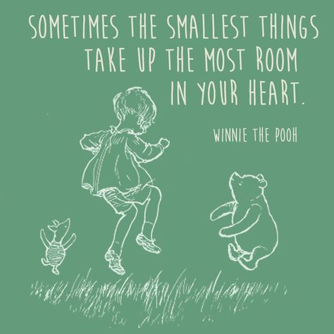 It's the Little Things - Words of Wisdom from Winnie the Pooh - Photos