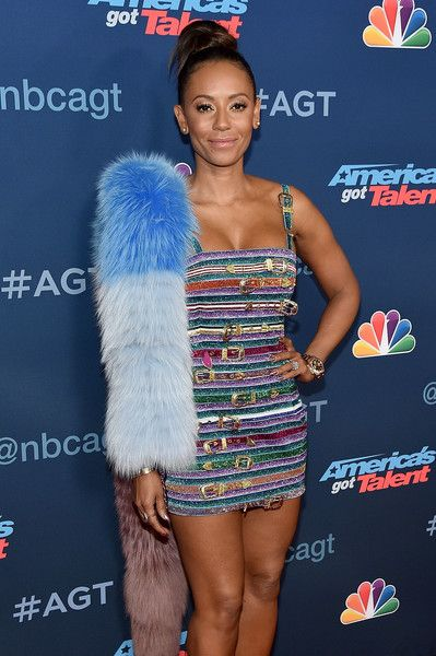 TV Personality Mel B attends the 'America's Got Talent' Season 11 Live Show at Dolby Theatre.