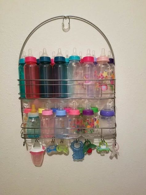 This Mom's Baby Bottle Storage Trick Is Actually Genius