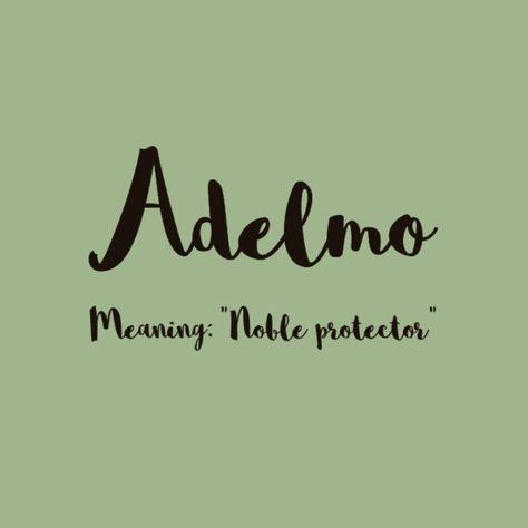 Adelmo - European Boy Names That Are On the Rise  - Photos