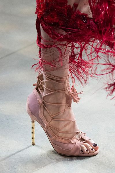 Marchesa, Fall 2017 - The Best Shoes on the New York Runway - Photos