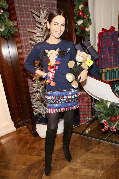 Actress Camilla Belle attends Brooks Brothers' holiday celebration with St. Jude Children's Research Hospital.