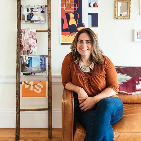 A Facebook's Creative Director Shares Her Art-Filled S.F. Home - A Facebook Creative Director's Art Filled Home - Photos