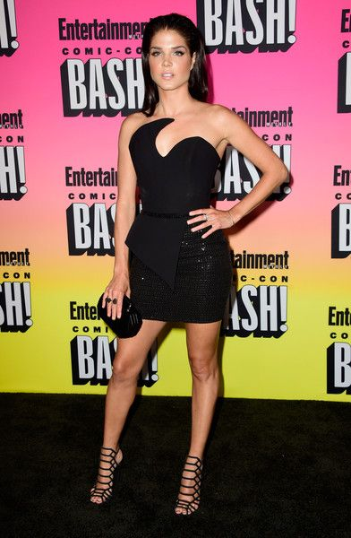 Marie Avgeropoulos attends Entertainment Weekly's Comic-Con Bash.