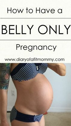 Belly Only Pregnancy Workout