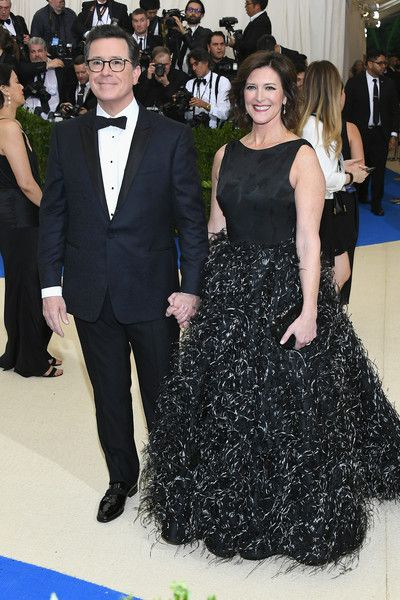 Stephen Colbert & Evelyn Mcgee - The Cutest Couples At The 2017 Met Gala - Photos