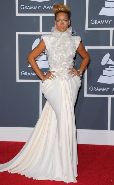 The Only Grammy Dresses You Need to Remember   Rihanna, 2010 Grammy Awards