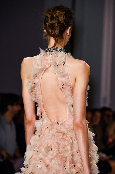 Lela Rose, Spring 2016 - The Most Beautiful Backless Dresses of 2016 - Photos