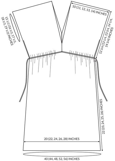 Как сшить пляжного платья своими руками выкройки 6