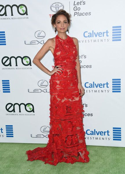 Nicole Richie attends the 26th annual EMA Awards at Warner Bros studio lot in Burbank.